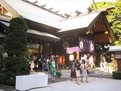復縁で有名な神社!東京大神宮